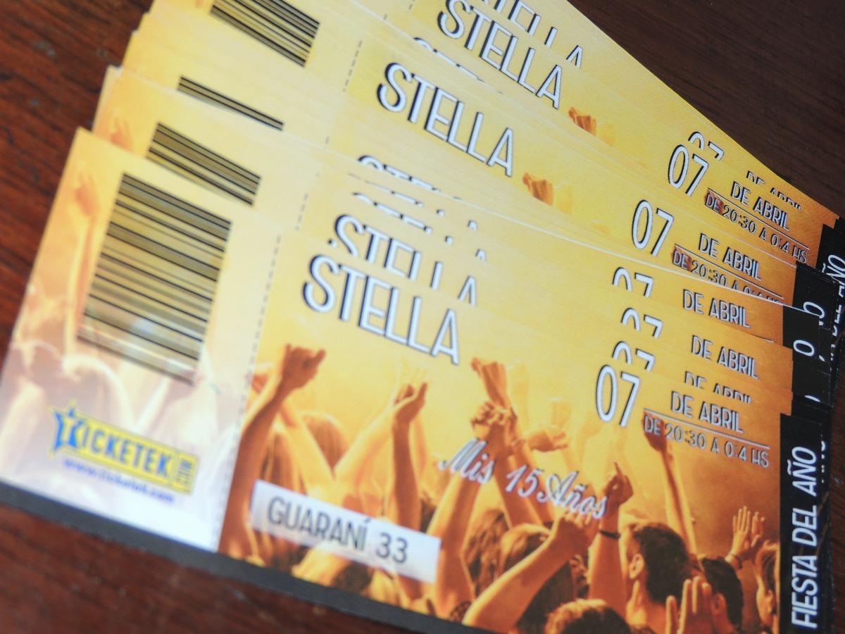 Invitaciones Fiestas 15 18 Años Estilo Boliche Ticketek