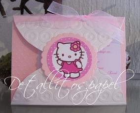 Hello Kitty De Foami Invitaciones Y Tarjetas De Cumpleaños