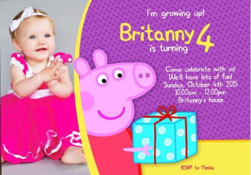 invitaciones infantiles digitales