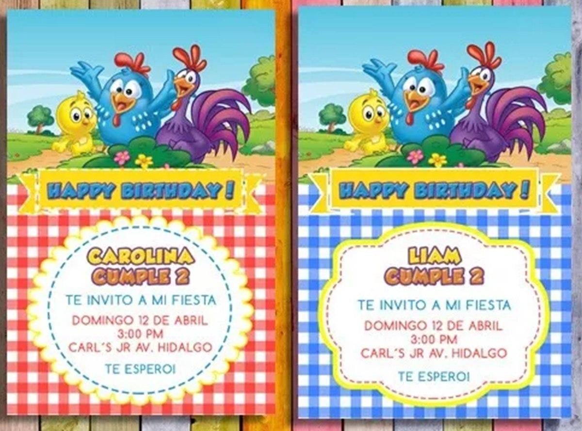 6d0bfa96c Invitaciones Infantiles Niñas Digitales / Usted Imprime - $ 9.990 en ...