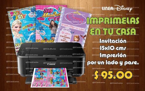 invitaciones kit imprimible - cumpleaños, bodas, xv años etc