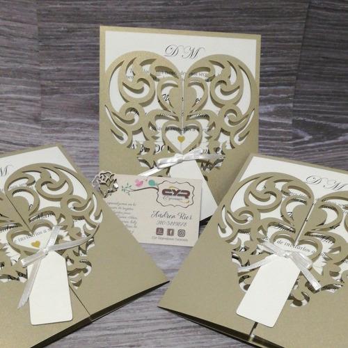invitaciones matrimonio boda tarjetas 15 años comunión bauti