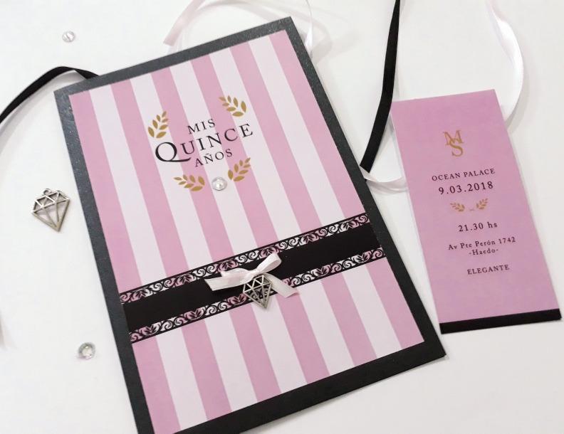 Invitaciones Originales 15 Años Victoria Secret