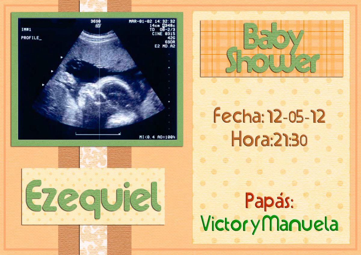 Invitaciones Para Baby Shower Originales Tarjetas X 24 U