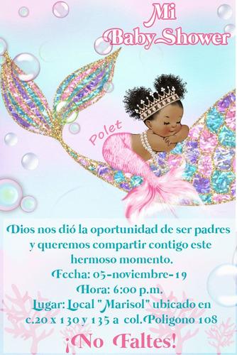 invitaciones para baby shower personalizadas