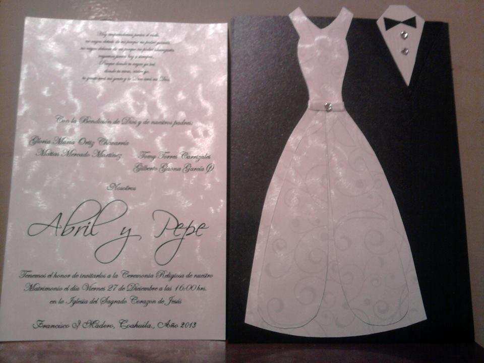 Invitaciones para boda originales en mercado libre - Bodas originales ideas ...