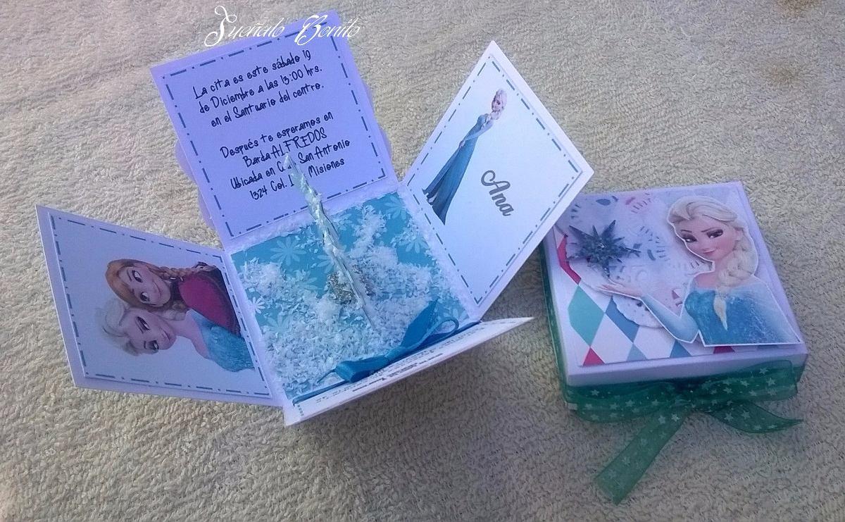 2f856852c Invitaciones Para Niña 3 Años Frozen 3000 En Mercado Libre