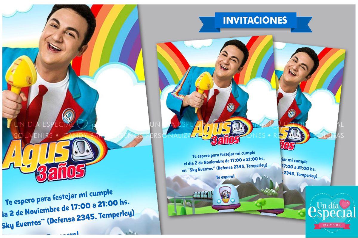 Invitaciones Personalizadas Granja Soy Luna Ponys Topa