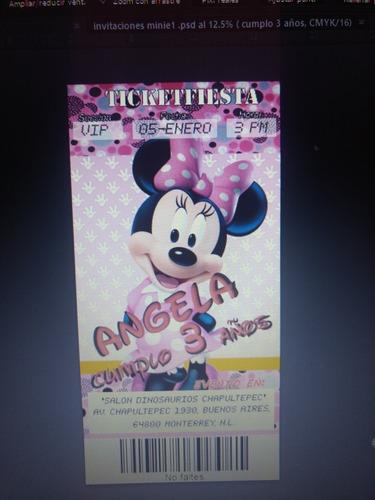 invitaciones personalizadas para tu evento (imprimible)