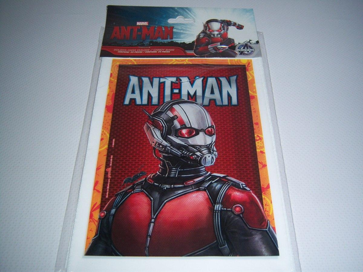 Invitaciones Platos Vasos Antman Ant Man Hombre Hormiga