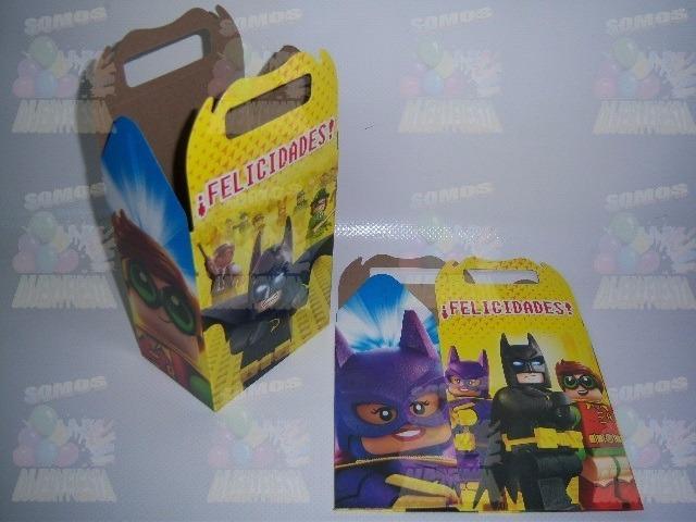 Invitaciones Platos Vasos Articulos Fiesta Lego Batman