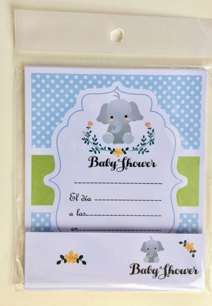 533fe146c33ea Invitaciones Con Tarjeta Souvenir Baby Shower Nene -   65