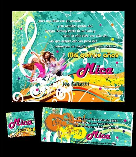invitaciones tarjetas 15 años casamientos eventos originales