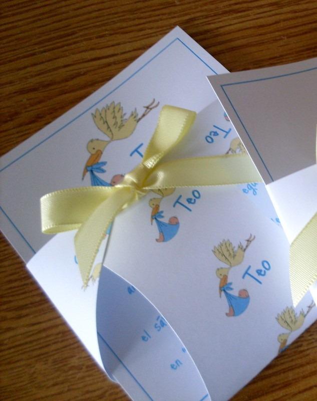 Invitaciones Tarjetas Baby Shower Nacimiento. Cargando Zoom.