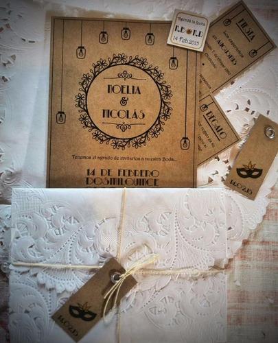 invitaciones tarjetas casamiento quince años bautismo boda