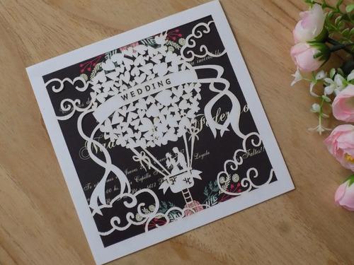 invitaciones tarjetas de boda de casamiento detalles calados