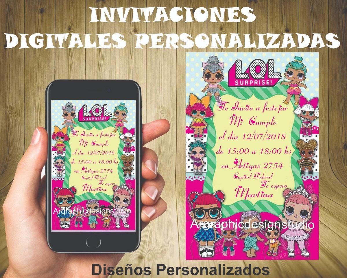 Invitaciones Tarjetas Digitales Juniors Express