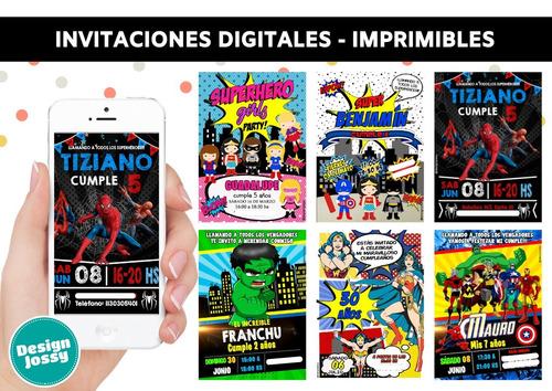 invitaciones tarjetas digitales personalizadas whatsapp