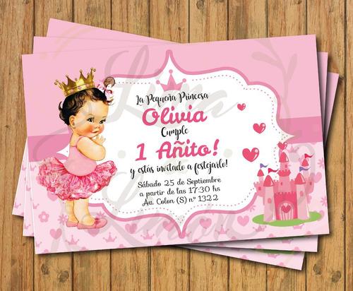 invitaciones/recordatorios para bautismo-baby shower-1 añito