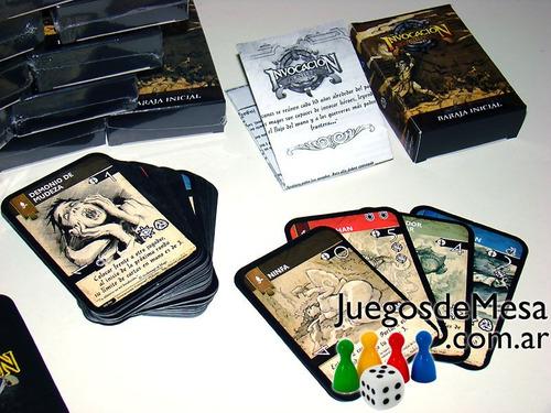 invocación: fronteras. juego de  mesa moderno