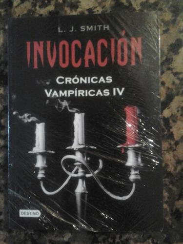 invocación lj smith crónicas vampiricas