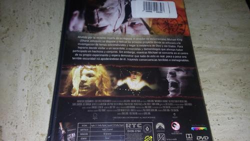 invocando al demonio de michael king dvd nueva