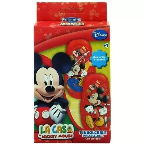involcable mickey mouse con cascabel