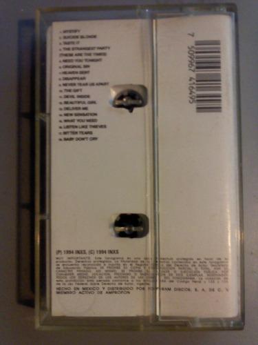 inxs greatest hits cassette seminuevo + cd transfer gratis