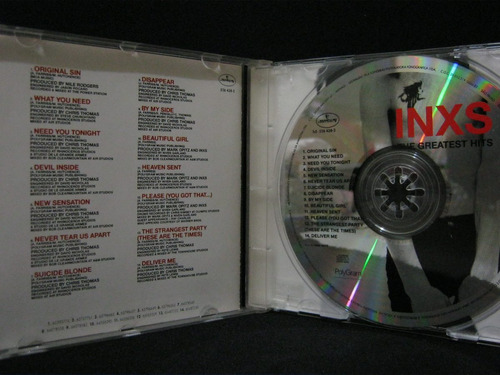 inxs the greatest hits - cd