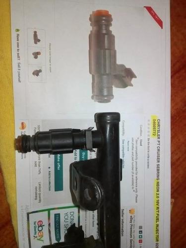 inyector chrysler neon 2.0 - 16v - injeccion - ref: 04669772