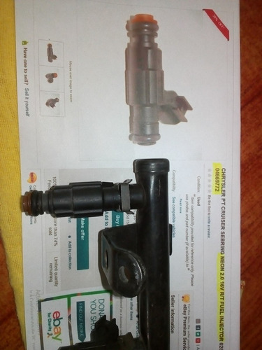 inyector chrysler neon 2.0 - 16v - injeccion - ref: 04669772