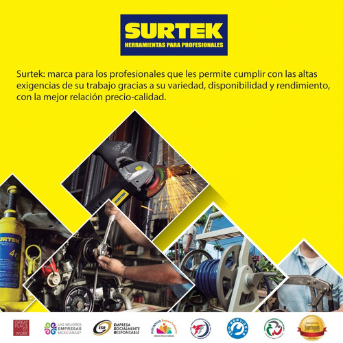 inyector de grasa manual industrial 14oz surtek 136012