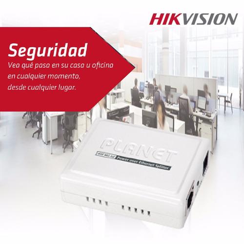 inyector poe hikvision para camaras ip