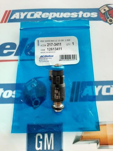 inyector silverado 2009-10 5.3 12613411 (kit 08) original
