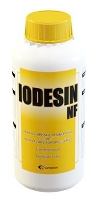 iodesin nf - desinfetante para instrumentos e equipamentos