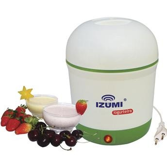 iogurteira elétrica bi-volt izumi de 1 litro