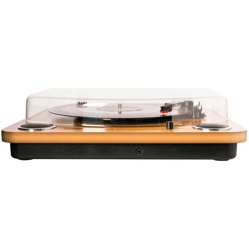 ion maxlp toca discos de vinil com alto-falantes e tampa