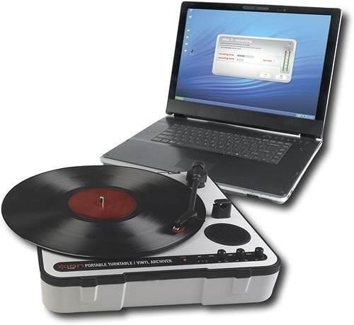 ionaudio - tornamesas para grabar portátil por usb