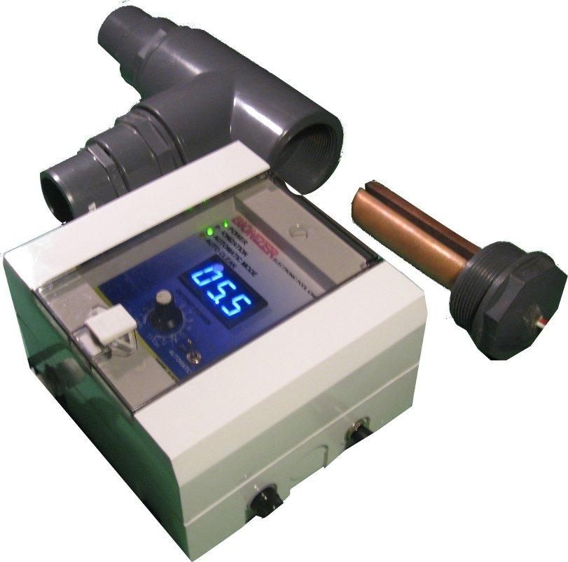 Ionizador bionizer para piscinas de hasta 70 m3 178 for Ionizador piscina
