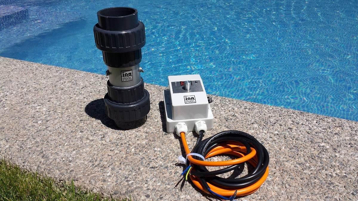 Ionizador para piscinas ionpool en mercado libre for Ionizador para piscinas