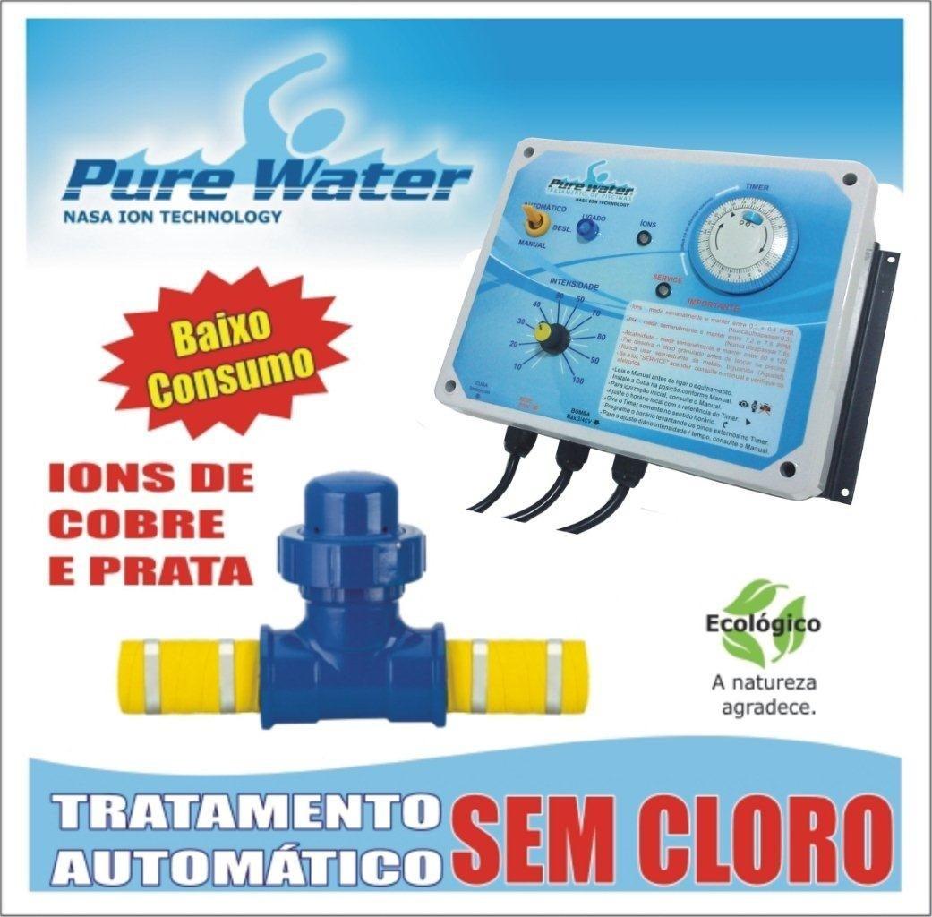 Ionizador pure water pw 105 piscinas at l r for Ionizador piscina