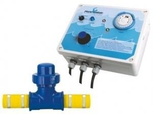 Ionizador pure water pw35 piscinas at 35m3 sem cloro for Ionizador piscina