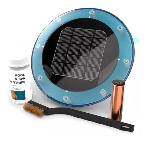 ionizador solar pileta piscina