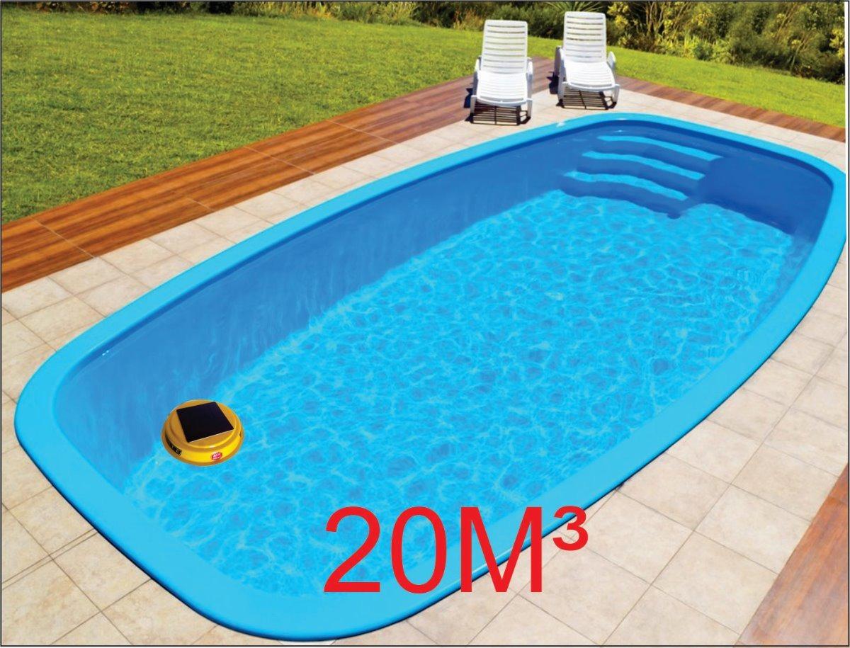 Ionizador solar piscina 20m cascata igui intex cloro r for Cloro piscina