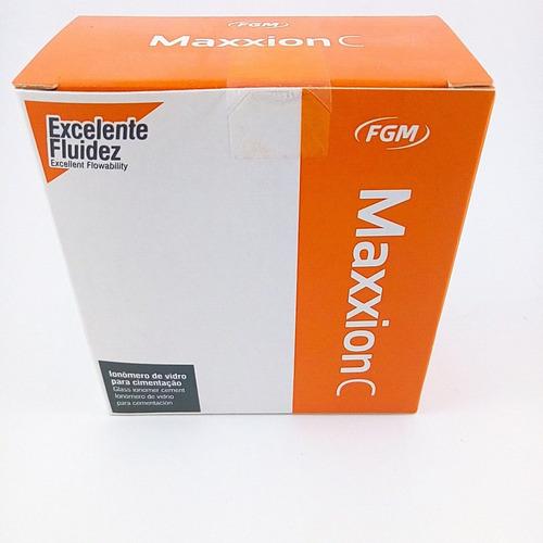 ionomero para cementacion maxxion c kit fgm novacekdental