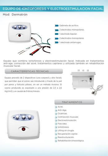 iontoforesis electroestimulacion facial morales antiarrugas