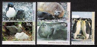 ipê-307  -  australia - território antártico  - fauna