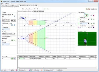 Ip design tool ferramenta de projeto de cftv r for Ip camera design tool