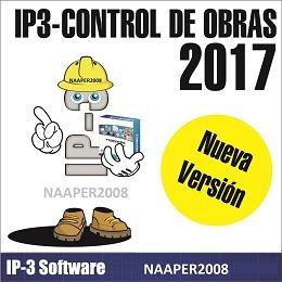ip3 version 2017 control de obra, bd de marzo 2019 lulowin