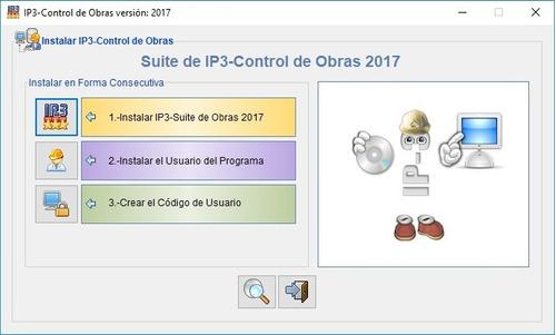 ip3 version 2017 control de obra con bdd marzo 2019 lulowi